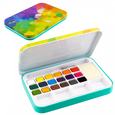 Watercolor Box  - Eau En Couleurs Palette