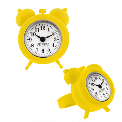 Bague montre / horloge - nano watch Jaune