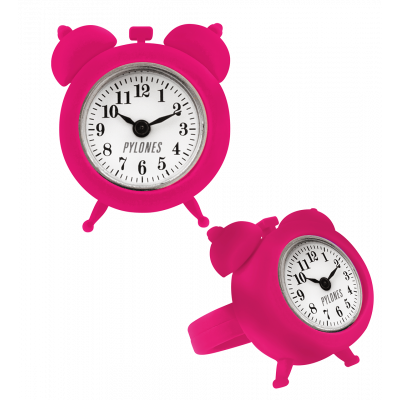 Bague montre / horloge - nano watch Rose 2
