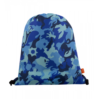 Swimming bag - Swim DS Camouflage Blue
