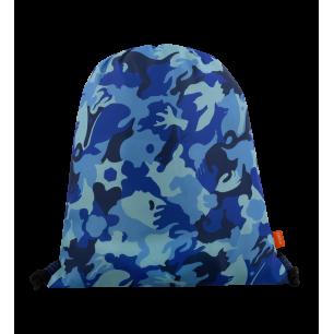 Sacca da nuoto - Swim DS Camouflage Blue