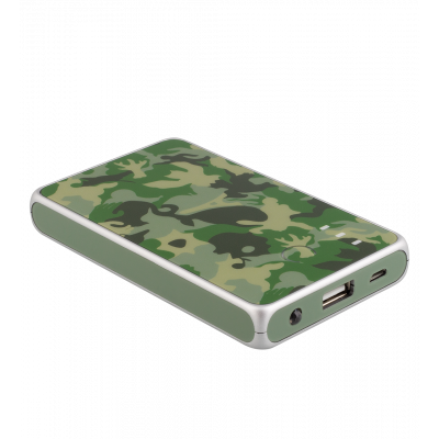 Portable battery 5000mAh - Get The Power 2 Camouflage Green
