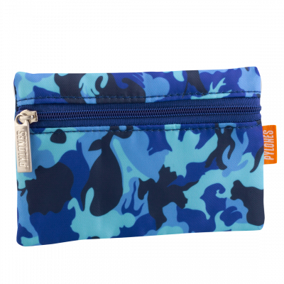 Portamonete - Mini Purse Camouflage Blue