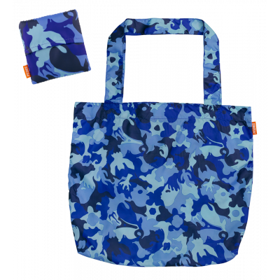 Shopping bag - Do The Shopping Camouflage Blue