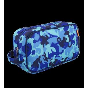 Trousse da bagno - Small Tidy Camouflage Blue