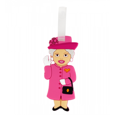 Luggage label - Ani-luggage Queen Pink