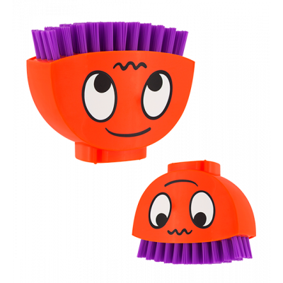 Happy Brush - Nail brush Orange