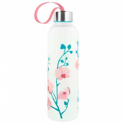 Flask - Happyglou Large Orchid Blue