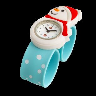 Montre slap - Funny Time Snowman