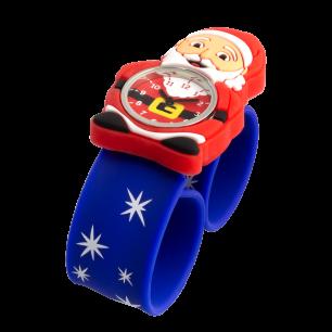 Montre slap - Funny Time Santa