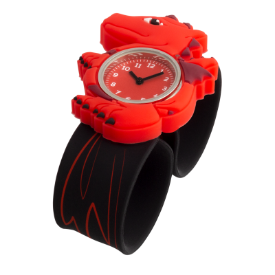 Montre slap - Funny Time Dragon Rouge