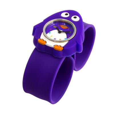 Slap watch - Funny Time Penguin