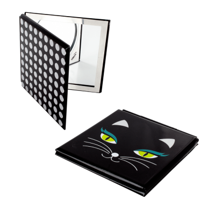 Taschenspiegel - Mimi Black Cat