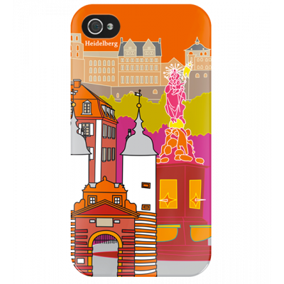 I Cover 4 - Cover per iPhone 4/4S Heidelberg
