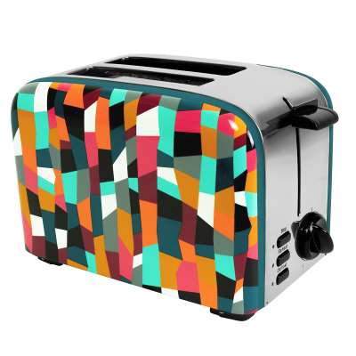 Toaster with European plug - Toast'in 2 Accordeon