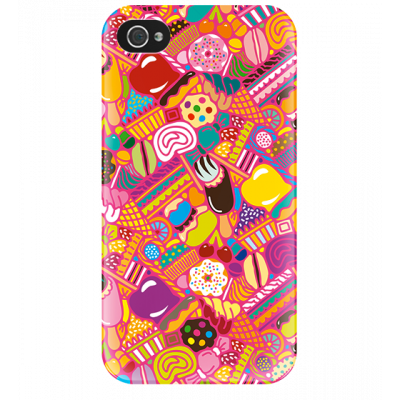 I Cover 4 - Cover per iPhone 4/4S Candy