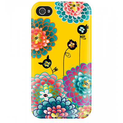 I Cover 4 - Cover per iPhone 4/4S Dahlia