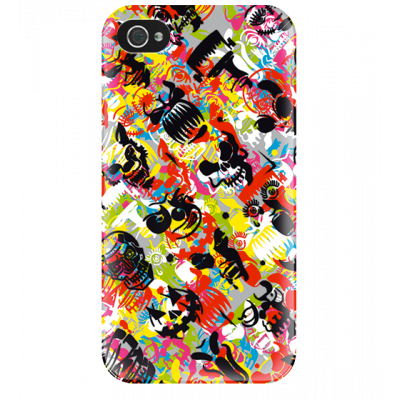 I Cover 4 - Cover per iPhone 4/4S Graffiti