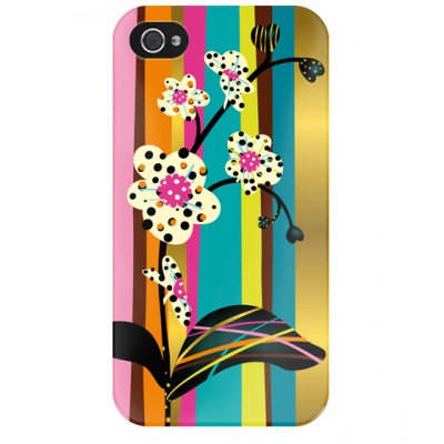 I Cover 4 - Cover per iPhone 4/4S Orchid