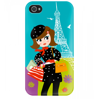 I Cover 4 - Cover per iPhone 4/4S Parisienne