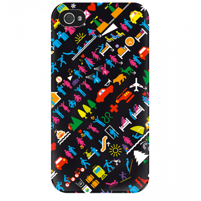 I Cover 4 - Cover per iPhone 4/4S Picto