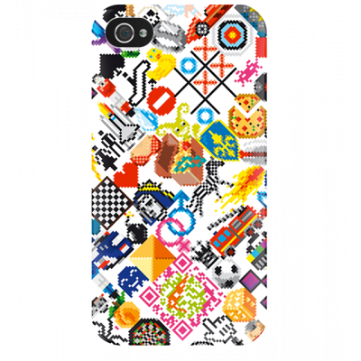 I Cover 4 - Cover per iPhone 4/4S Pixel