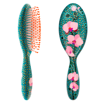Hairbrush - Ladypop Large Orchid Blue