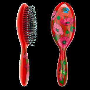 Haarbürste - Ladypop Large Erwachsene Coquelicots