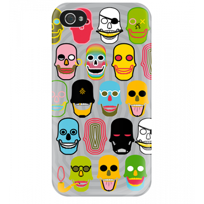 I Cover 4 - Cover per iPhone 4/4S Skull