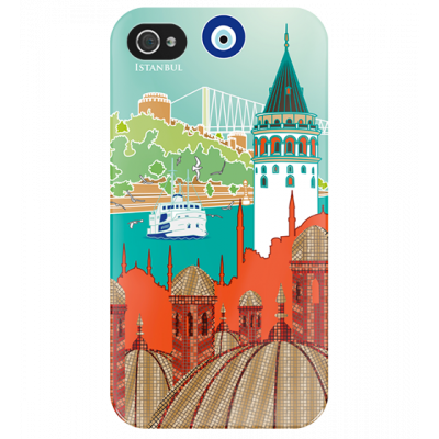 I Cover 4 - Case for iPhone 4/4S Istanbul