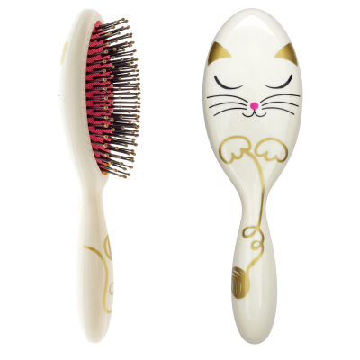 Grande brosse à cheveux - Ladypop Large Adultes White Cat