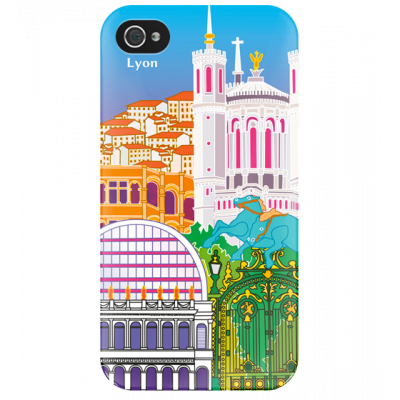 I Cover 4 - Cover per iPhone 4/4S Lyon