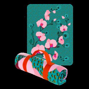 Keep Me Warm - Blanket – Fleece Blanket Orchid Blue