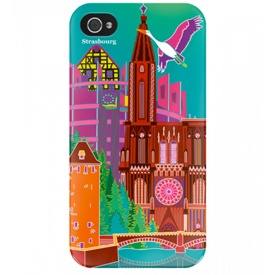 I Cover 4 - Cover per iPhone 4/4S Strasbourg
