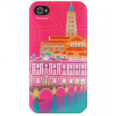 I Cover 4 - Cover per iPhone 4/4S Toulouse
