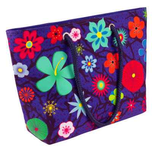 Borsa - My Daily Bag 2 Blue Flower