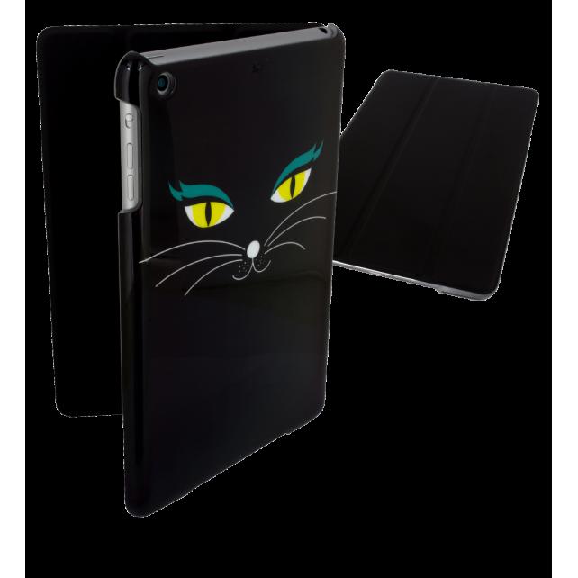 Case for iPad mini 2 and 3 - I Smart Cover Black Cat
