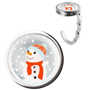 Handbag hook - Dîner en Ville Snowman