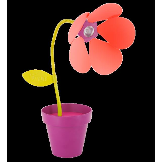 Lampe Fleur Led Usb I Touch Violet Pylones