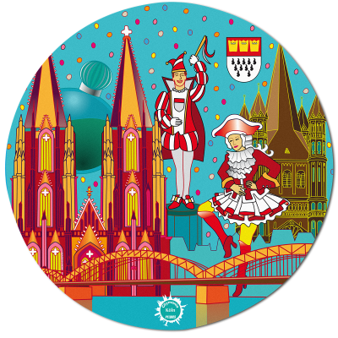 Mouse pad - Tapiron Citymania Köln