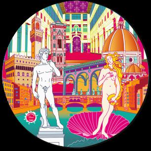 Mouse pad - Tapiron Citymania Florence