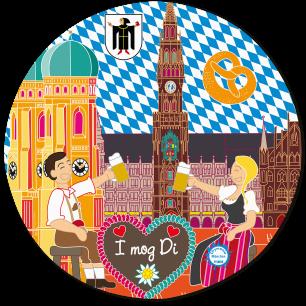 Mouse pad - Tapiron Citymania München
