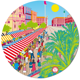 Mouse pad - Tapiron Citymania Nice