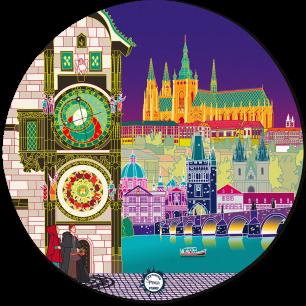Mouse pad - Tapiron Citymania Praha