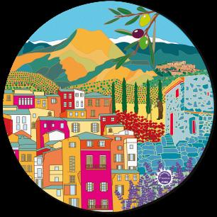 Mouse pad - Tapiron Citymania Provence
