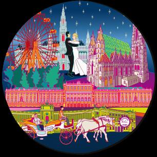 Mouse pad - Tapiron Citymania Vienna