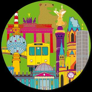 Mouse pad - Tapiron Citymania Berlin