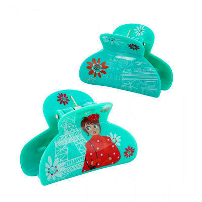 Crab hair clips - Ladyclip Small Petite Parisienne