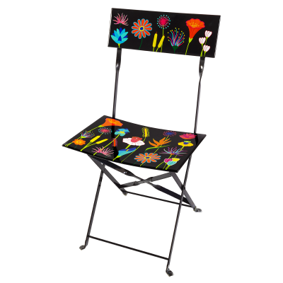 Folding chair - Garden Paradise Jardin fleuri