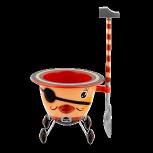 Coquetier design - Cocotte Pirate